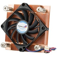 FAN7751U CPU Cooler, Socket 775, Copper, 24mm Height