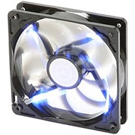 R4 SickleFlow 120mm Case Fan, 2000 RPM, 69 CFM, 19 dBA, Blue LED