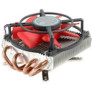 HPK-10025EA CPU Cooling Fan, Socket 1366/775, 67mm Height Low-Profile, Aluminum/Copper