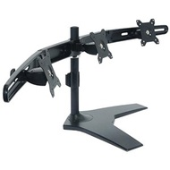 Triple Monitor Stand, Black