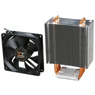 H.D.T. LOKI SD963 CPU Cooler, Socket 1150/1155/1156/1366/775/AM3/AM2, 134mm Height, Copper/Aluminum, Retail