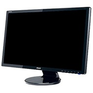 "VE247H Black WideScreen LCD Monitor, 23.6"" TFT Full HD LED, 1920x1080, 0.272mm, 300cd/m², 2ms, VGA/DVI/HDMI, VESA, w/ Speakers"