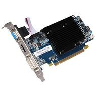 Radeon™ HD 5450 (Fanless) 650MHz, 512MB DDR3 1334MHz, PCIe x16, DVI+HDMI+VGA, Full-height/Low-profile, Retail
