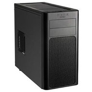 Arc Mini Black Mini-Tower Case, mATX, No PSU, Plastic/Steel