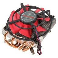 HPKC-10025EA CPU Cooling Fan, Socket 1155/1156/AM3/AM2, 95W, Aluminum/Copper