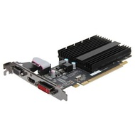 Radeon™ HD 5450 (Fanless) 650MHz, 512MB DDR3 1066MHz, PCIe x16, HDMI + DVI + VGA, Full-height/Low-profile, Retail