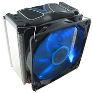 GX-7 CPU Cooler, Socket 1155/1156/1366/775/FM1/AM3/AM2, 159mm Height, Copper/Aluminum