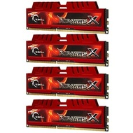 32GB (4 x 8GB) Ripjaws X PC3-10666 DDR3 1333MHz CL9 (9-9-9-24) 1.5V SDRAM DIMM, Non-ECC