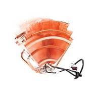 V1 CPU Cooling Fan, Socket LGA775/AMD754/939/AM2, 143mm Height, Copper