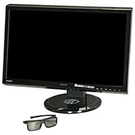"VG23AH Black LCD Monitor, 23"" Full HD LED, 1920x1080, 0.2652mm, 250cd/m², 5ms, HDMI/DVI/VGA, w/ Speakers, w/ 3D Glasses, VESA"