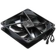 Antec 2 Speed 120mm Black Case Fan, 3-Pin Power Connector, 2 Speed Switch
