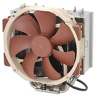 NH-U14S CPU Cooling Fan, Socket 2011/1155/1156/1366/775/FM2/FM1/AM3/AM2, 165mm Height, Copper/Aluminum, Retail