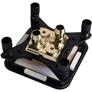 Apogee HD Gold CPU Waterblock, Limited Edition, 24K Glod Plated