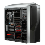 Powered By Corsair Core™ i7 X79 2-way SLI® / CrossFireX™ Custom Gaming System