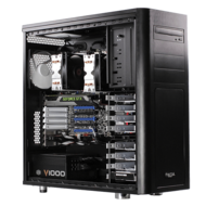 Dual Xeon® E5 C602 Eight-Core Low-Noise Graphics Computer Workstation