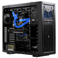 Liquid Cooled CPU Single Loop Z87 2-Way Graphics Custom Gaming System