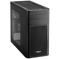Arc Mini R2 Black Mini-Tower Case w/ Window, mATX, No PSU, Plastic/Steel