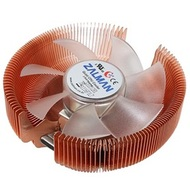 CNPS7500-Cu LED CPU Cooler, Socket 1155/1156/775/AM3/AM2, 67mm Height, Copper, Blue LED