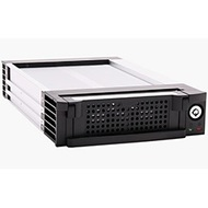KF-811-BK Black SATA II HDD Mobile Rack w/ 1x Fan, 3.5-in HDD, 5.25-in Bay