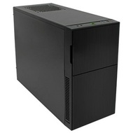 Deep Silence 4 Silent Black Mini-Tower Case, mATX/mini-ITX , No PSU, Plastic/Steel