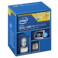 Core™ i5-4460 Quad-Core 3.2 - 3.4GHz TB, HD Graphics 4600, LGA1150, 6MB L3 Cache, DDR3-1600, 22nm, 84W, EIST VT-d VT-x XD, Retail
